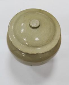 Горшок глиняный 1950г. предмет домашней утвари переселенцев