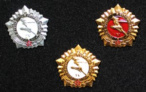 Значки ГТО выдавался за сдачу спортивных нормативов 1979-1984г.г.