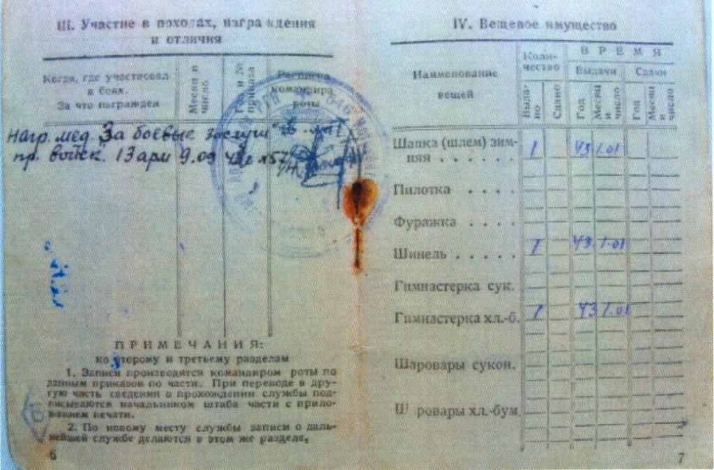 Красноармейская книжка_ветеран_Шапошников А.Н.-30003